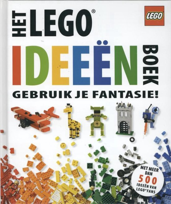 Boek cover Lego - Het Lego ideeenn boek van Daniel Lipkowitz (Hardcover)