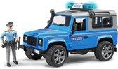 Land Rover Defender Politie met politieman Bruder