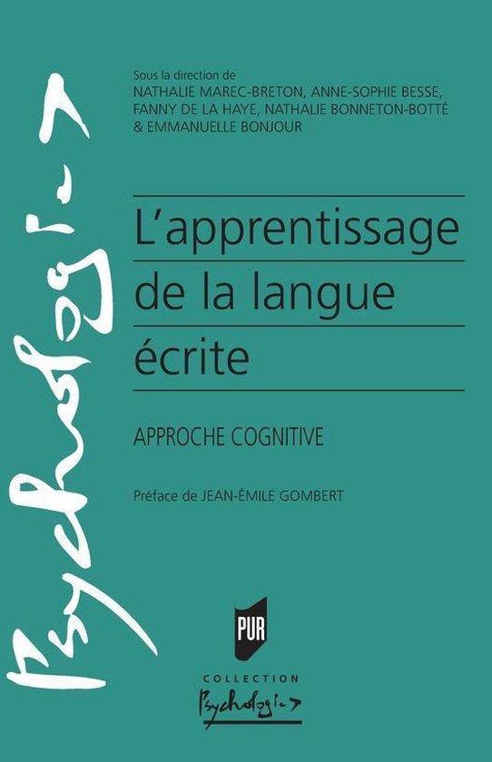 Boek cover Lapprentissage de la langue écrite van Collectif (Onbekend)
