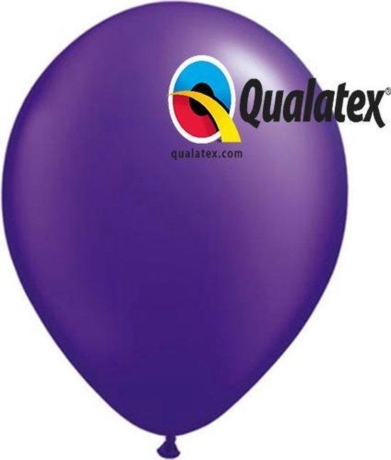 Ballonnen Paars Violet 15 cm 100 stuks