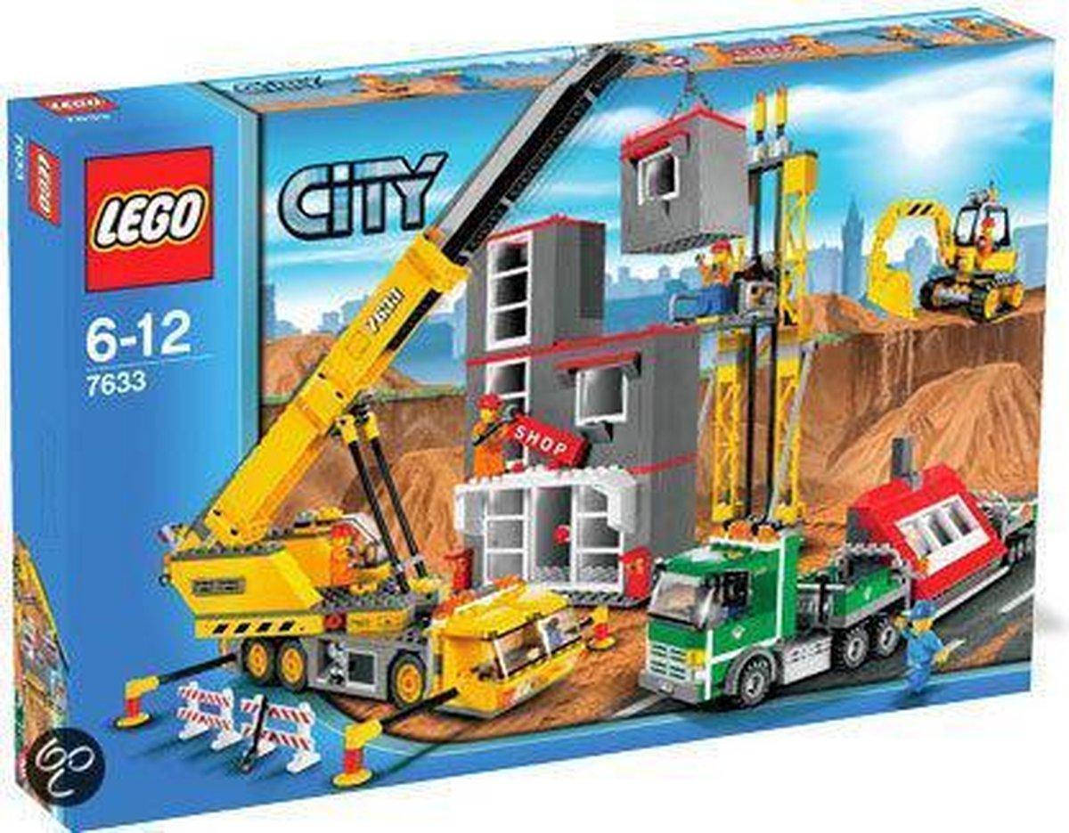 LEGO City Bouwplaats - 7633