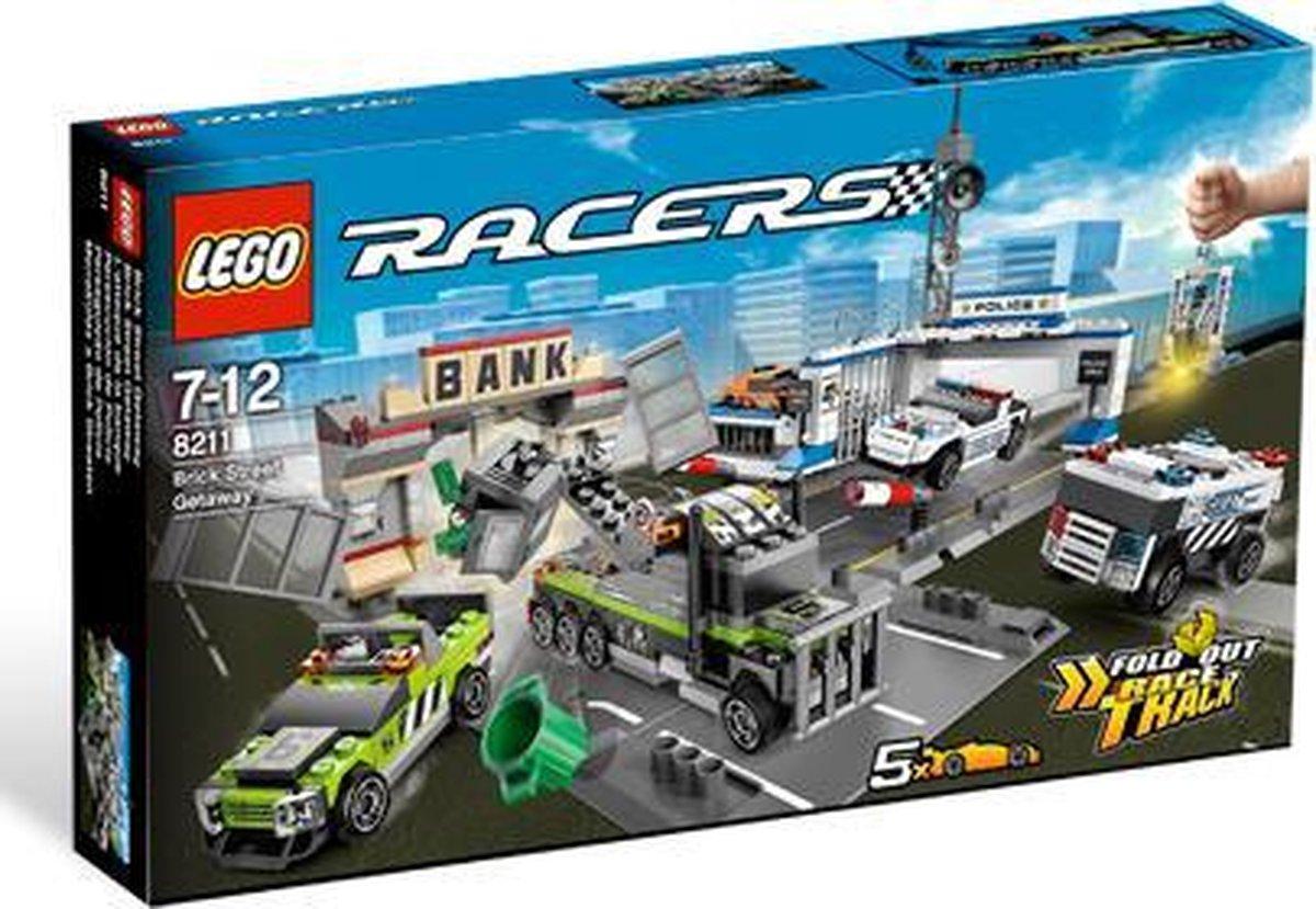 LEGO Racers Vlucht over de Steenstraat - 8211