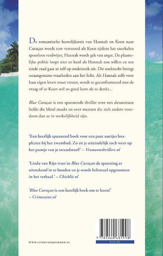 Blue curacao - Linda van Rijn