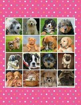 Composition Book - I Love Puppies