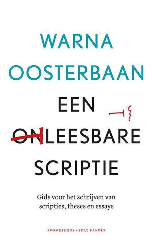 Een leesbare scriptie - Warna Oosterbaan |