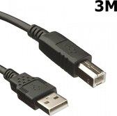 3 Meter USB 2.0 A - B Printer Kabel
