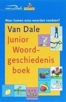 Boek cover Van Dale Junior Woordgeschiedenisboek van Wim Daniëls