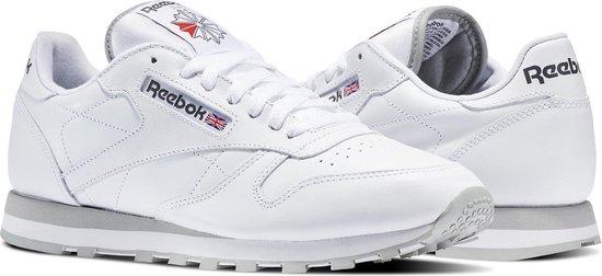 Reebok Classics Leather Sneakers Heren - Int-White/Lt. Grey - Maat 40