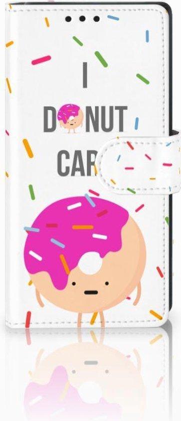 Sony Xperia XA1 Uniek Boekhoesje Donut