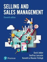 Selling and Sales Management ePub eBook
