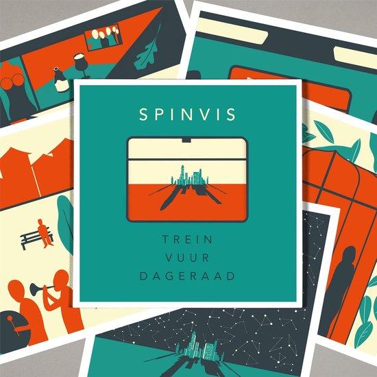 Trein Vuur Dageraad (Coloured Vinyl) (2LP) - Spinvis