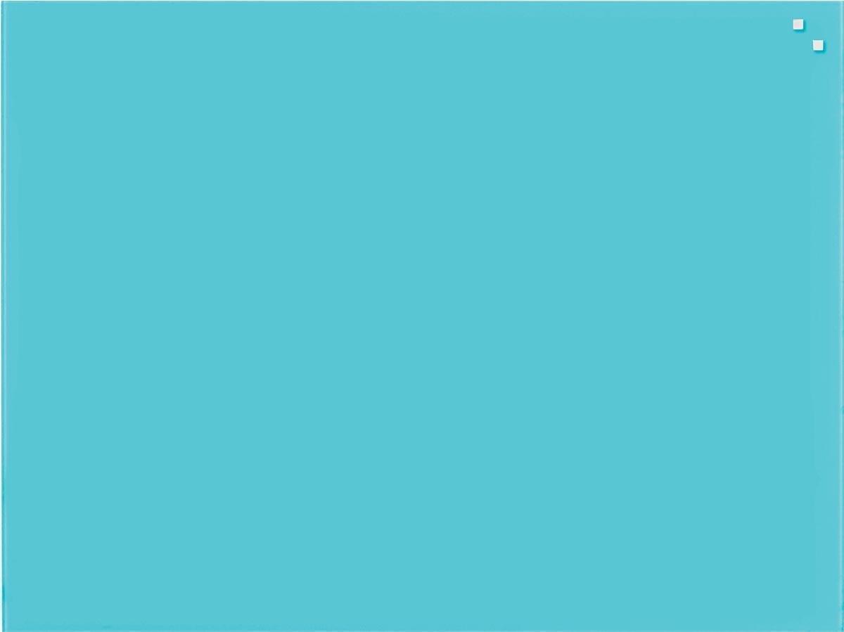 NAGA Glassboard 60x80cm Turquoise