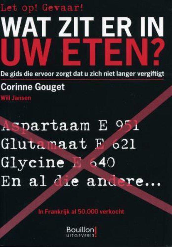 Boek cover Wat zit er in uw eten? van Corinne Couget (Paperback)