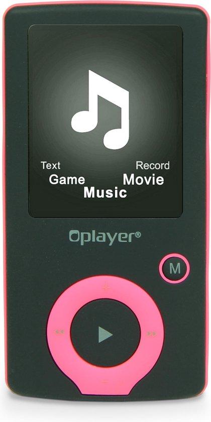 Nikkei NMP4BK - Digitale Audio/Video MP4-speler met 8GB Opslag, Radio, JPEG picture browsing en AMV video - Roze