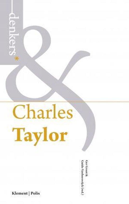 Boek cover Charles Taylor van Ger Groot (Paperback)