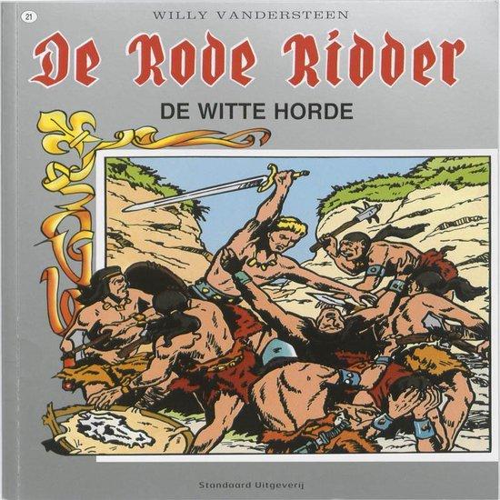 Cover van het boek 'Rode Ridder 021 Wilde Horde'