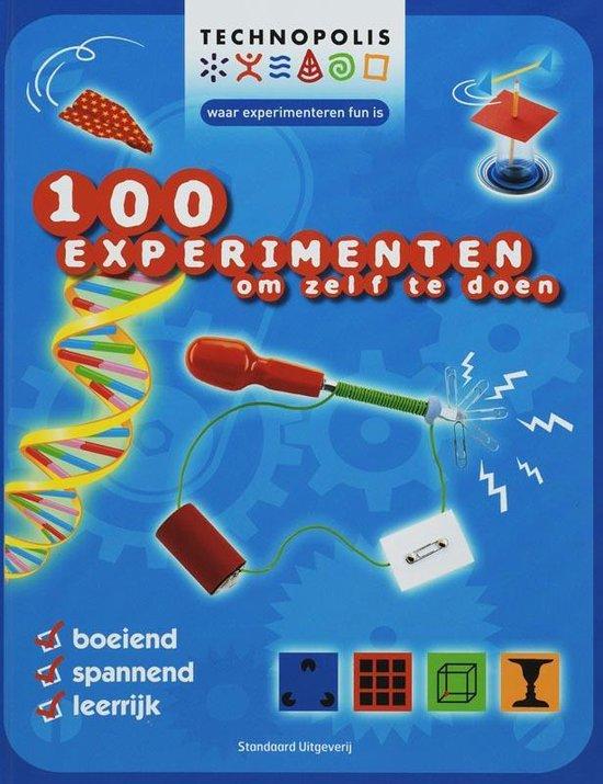 Cover van het boek '100 experimenten om zelf te doen' van K. Knighton en Gini Andrews