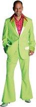 Groen jaren 70 kostuum voor heren 60-62 (xl)