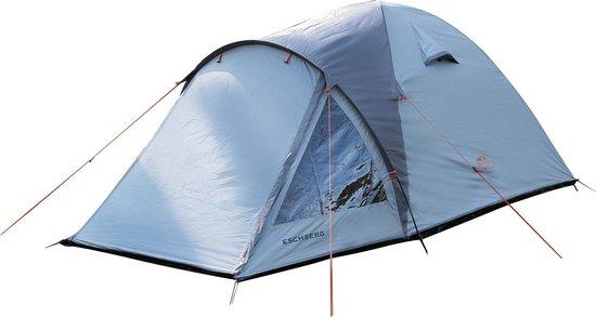 Dutch Mountains Tent Eschberg Ruime Iglo Tent 210L X 160B - Grijs - 2 Persoons