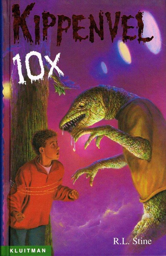 Boek cover Kippenvel 10x van R.L. Stine (Hardcover)