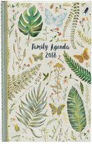 Botanic familieagenda 2018 voor maximaal 5 personen en voor 16 maanden