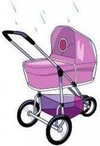 Babsana Regenhoes Voor Kinderwagen - Transparant