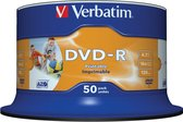 """""""Verbatim DVD-R AZO 4,7GB 16X SP WIDE PRINTABLE - Rohling"""""""