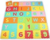 86-delige foam puzzelmat, speelmat foam, speelkleed, puzzel