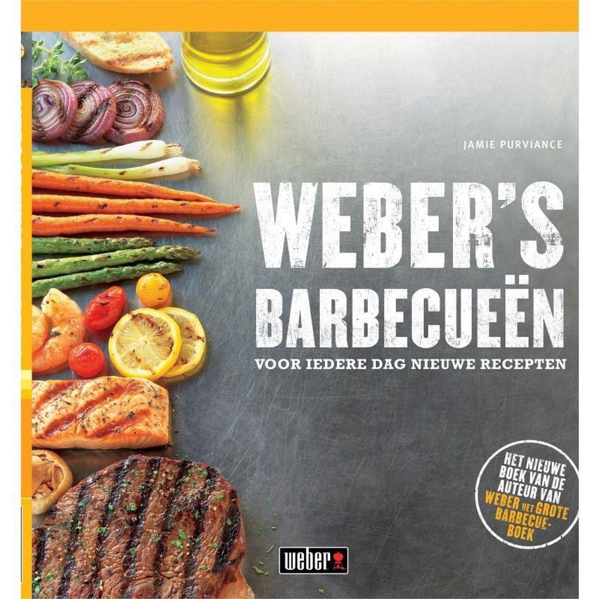 Weber's Barbecueën: voor iedere dag nieuwe recepten