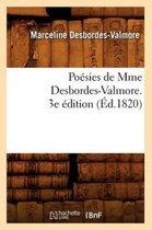 Poesies de Mme Desbordes-Valmore. 3e edition (Ed.1820)