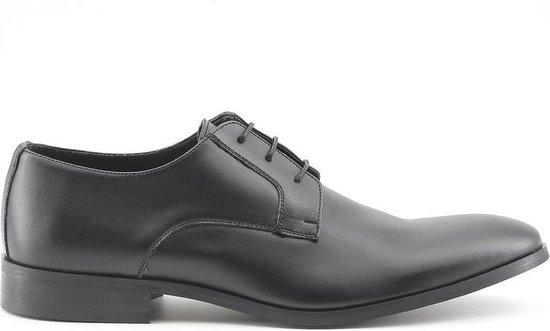 Made in Italy - Heren Nette schoenen Florent Nero - Zwart - Maat 41