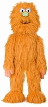 Sillypuppets Handpop - Monster - Oranje
