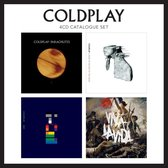 CD cover van Coldplay: 4CD Catalogue Set van Coldplay