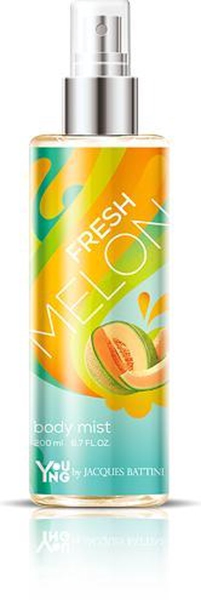 Body mist Fresh Melon 200ml - Jacques Battini