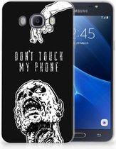 Samsung Galaxy J7 2016 Uniek TPU Hoesje Zombie
