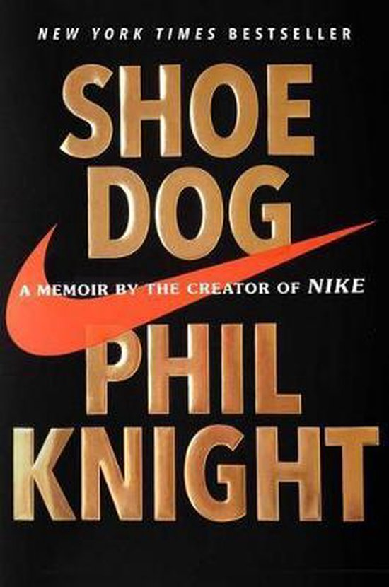 Boek cover Shoe Dog van Phil Knight (Hardcover)