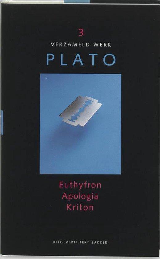 Verzameld Werk / III Euthyfron, Apologia, Kriton - Plato   Readingchampions.org.uk
