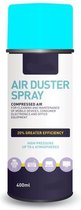 Airduster spray compressed gas - perslucht spuitbus - luchtspray-400ML