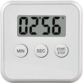 Magnetische Kookwekker Inclusief Standaard +  Batterij | Digitale Kook Wekker | Kookwekker | Wit