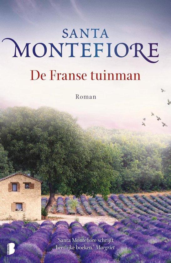 Boek cover Franse tuinman van Santa Montefiore (Onbekend)