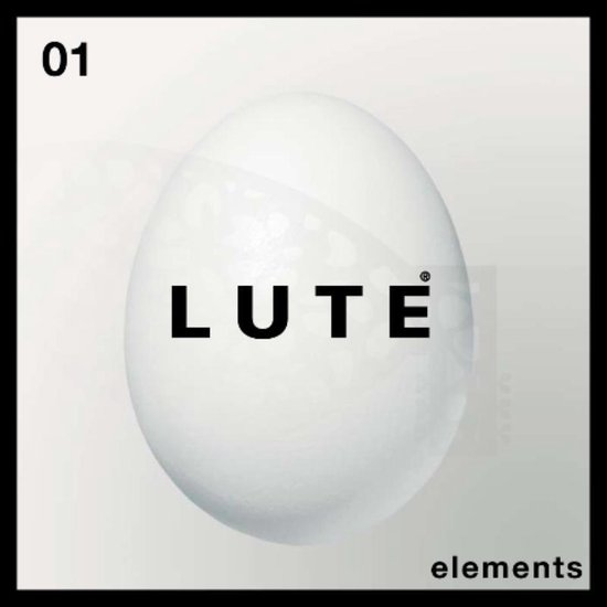 Boek cover Lute elements 01 van Peter Lute (Paperback)