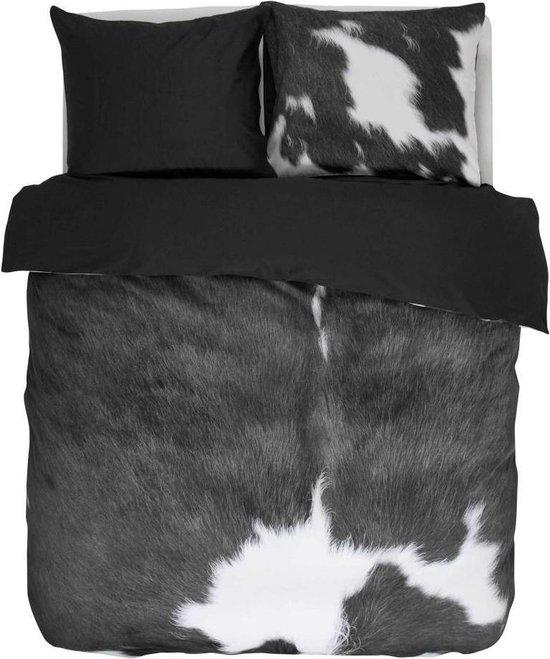Essenza Cow Dekbedovertrek - Tweepersoons - 200x200/220 cm - Grey