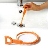 Afvoergoot Ontstoppingsveer - Herbruikbaar - Oranje