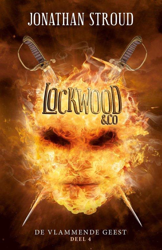 Lockwood & co 4 - De vlammende geest - Jonathan Stroud |