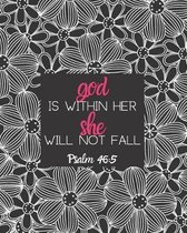 God is Within Her She Will Not Fall Psalm 46