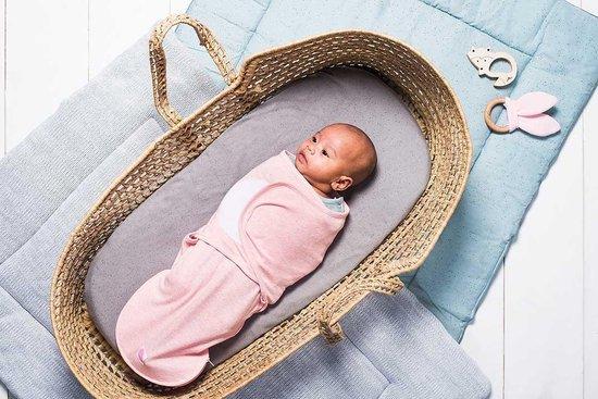 Jollein Speckled Slaapzak wrapper 0-3 maanden pink
