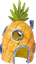 Nickelodeon Spongebob Ananashuis - Aquariumornament - 15 x 9 x 8 cm