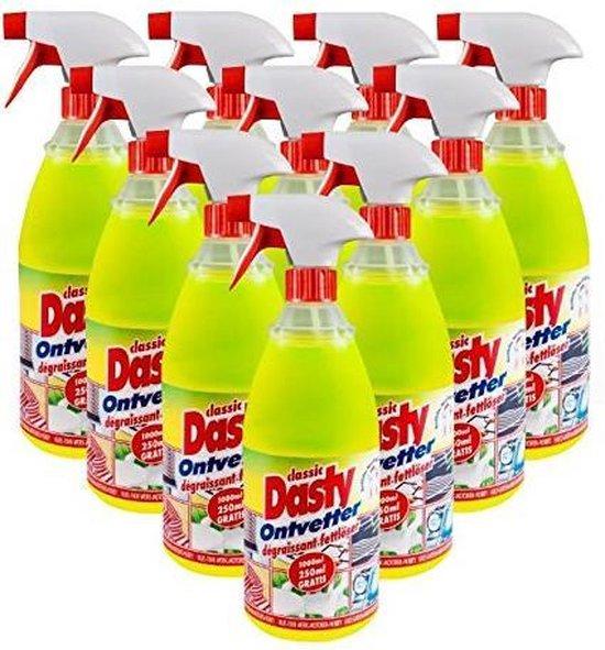 Dasty Ontvetter - 10 x 1000ml - Voordeelverpakking
