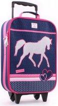 Milky Kiss Paarden Kinder Trolley - Paard