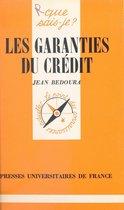 Les garanties du crédit